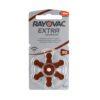 Rayovac Extra Advanced 312 hoorbatterijen (Bruin) 1 pakje