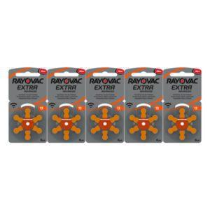Rayovac 13 oranje 5pack